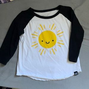 Whistle and Flute Sunshine 3/4 sleeve T